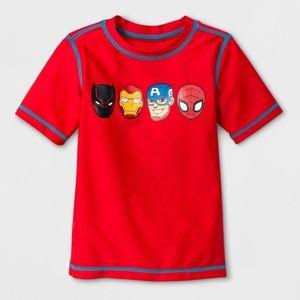 Other - BNWT 4T Marvel Avengers Rash Guard